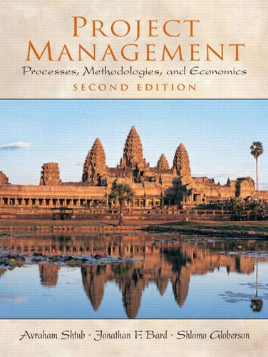 9780130413314: Project Management: Processes, Methodologies, and Economics (2nd Edition)