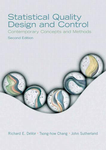 9780130413444: Statistical Quality Design and Control (2nd Edition)
