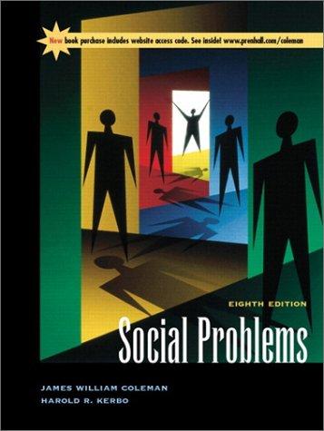 9780130413734: Social Problems