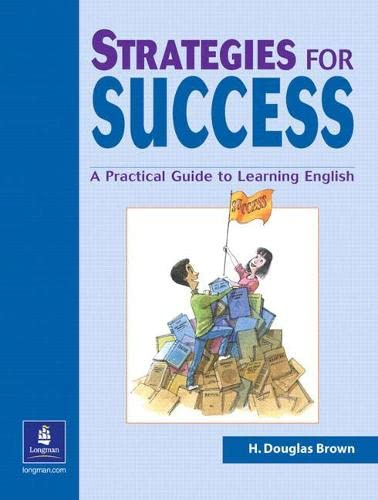 9780130413925: Strategies for Success: A Practical Guide to Learning English (Student Book)