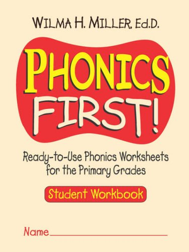 9780130414625: Phonics First!: Ready-To-Use Phonics Worksheets for the Primary Grades