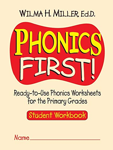9780130414625: Phonics First!: Ready-to-Use Phonics Worksheets for the Primary Grades (Student Workbook)