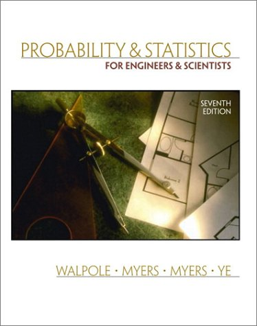 9780130415295: Probability and Statistics for Engineers and Scientists (7th Edition)