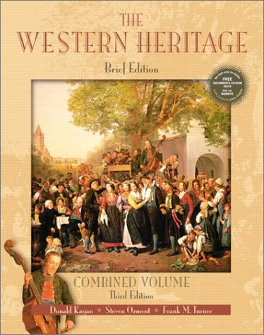 9780130415783: The Western Heritage: Combined Brief Edition with CD-ROM (3rd Edition)