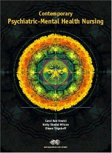 9780130415820: Contemporary Psychiatric Mental Health Nursing