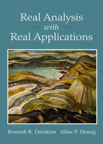 9780130416476: Real Analysis with Real Applications