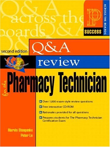 9780130416506: Prentice Hall Health's Question and Answer Review for the Pharmacy Technician (2nd Edition)