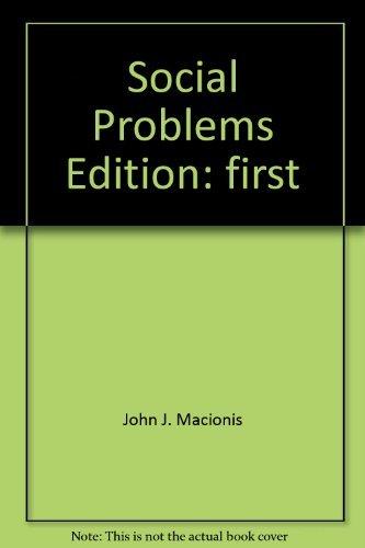 9780130416605: Social Problems