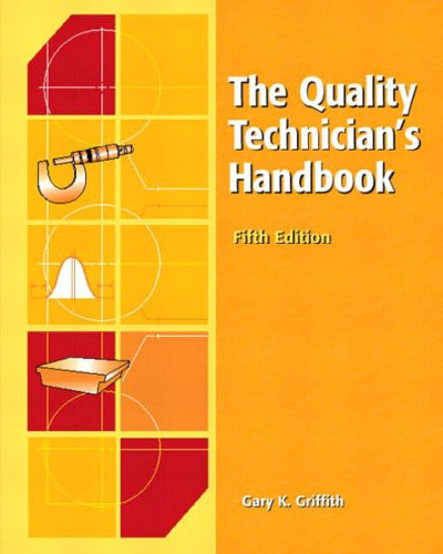 9780130416797: The Quality Technician's Handbook (5th Edition)