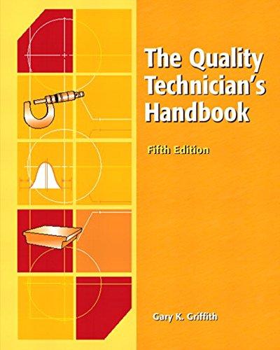 9780130416797: The Quality Technician's Handbook (5th Edition)