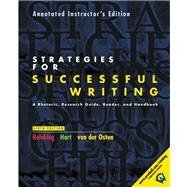 9780130417343: Strategies for Successful Writing - Annotated Instructor's Edition