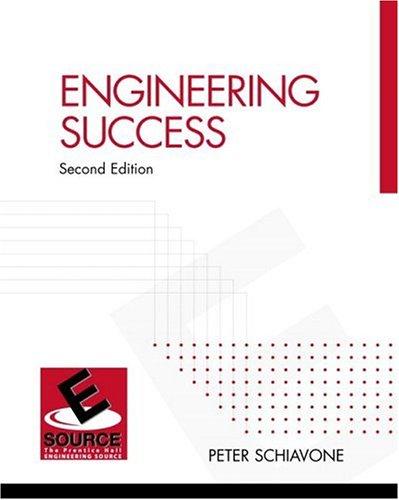 9780130418272: Engineering Success (2nd Edition)