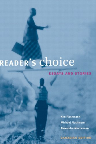 9780130418746: Reader's Choice: Essays and Stories, Canadian Edition