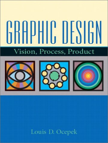 9780130418838: Graphic Design: Vision, Process Product