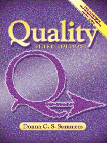 9780130419644: Quality (3rd Edition)