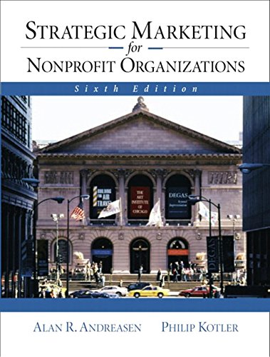 9780130419774: Strategic Marketing for NonProfit Organizations (6th Edition)