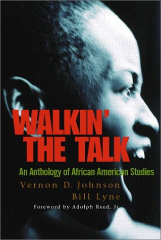 9780130420169: Walkin' the Talk: An Anthology of African American Studies