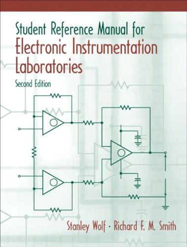 9780130421821: Student Reference Manual for Electronic Instrumentation Laboratories