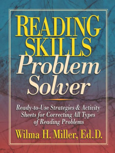 9780130422064: Reading Skills Problem Solver: Ready-to-use Strategies and Activity Sheets for Correcting All Types of Reading Problems