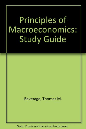 9780130422491: Principles of Macroeconomics: Study Guide