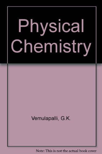 9780130423009: Physical Chemistry