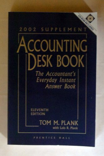 9780130423146: Accounting Deskbook, 2002 (Accounting Desk Book Supplement)