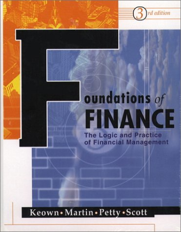 9780130423313: Foundations of Finance (3rd Edition)