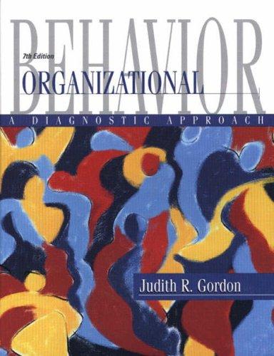 9780130423641: Organizational Behavior: A Diagnostic Approach