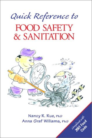 9780130424020: Quick Reference to Food Safety and Sanitation