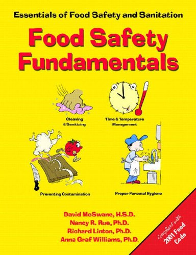 9780130424082: Food Safety Fundamentals: Essentials of Food Safety and Sanitation