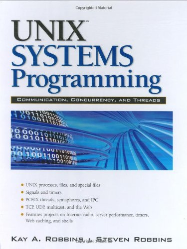9780130424112: UNIX Systems Programming:Communication, Concurrency and Threads