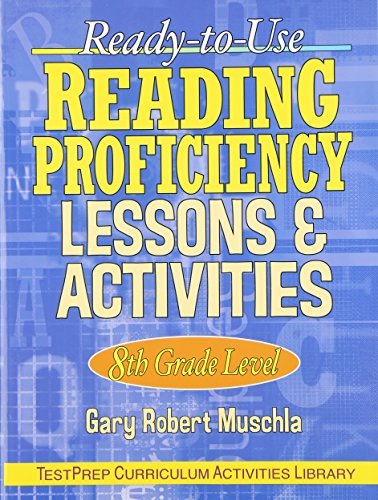9780130424464: Ready-to-Use Reading Proficiency Lessons & Activities: 8th Grade Level