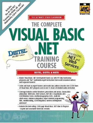 9780130425416: Complete Visual Basic .Net Traing Crs Stdnt