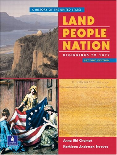 9780130425607: Land, People, Nation:  A History of the United States, Beginnings to 1877 (Second Edition)