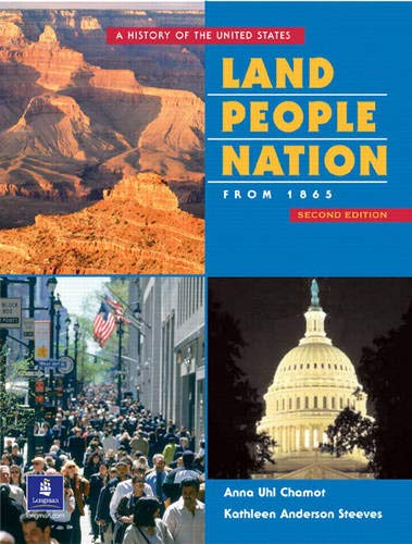 9780130425720: Land, People, Nation:  A History of the United States, Since 1865 (Second Edition)