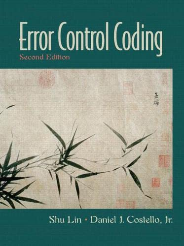 9780130426727: Error Control Coding (2nd Edition)