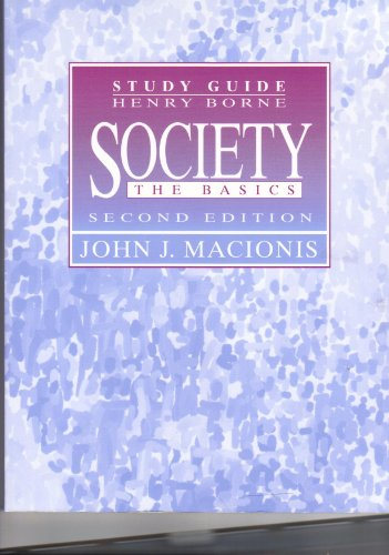 Society : The Basics: Macionis, John J.