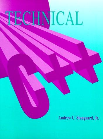 9780130428882: Technical C/C++
