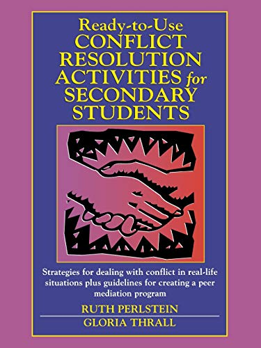 9780130429056: Ready-to-Use Conflict Resolution Activities for Secondary Students