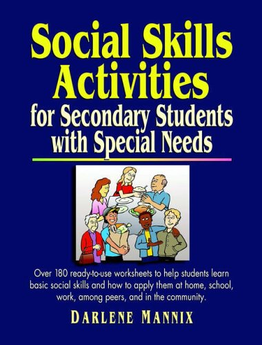9780130429063: Social Skills Activities: For Secondary Students with Special Needs