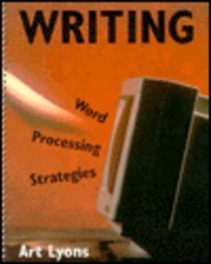 9780130429124: Writing: Word Processing Strategies