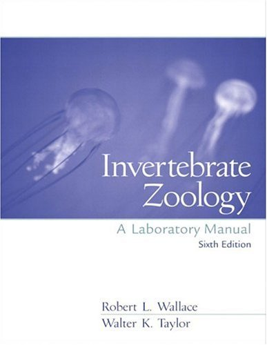 9780130429377: Invertebrate Zoology Lab Manual (6th Edition)
