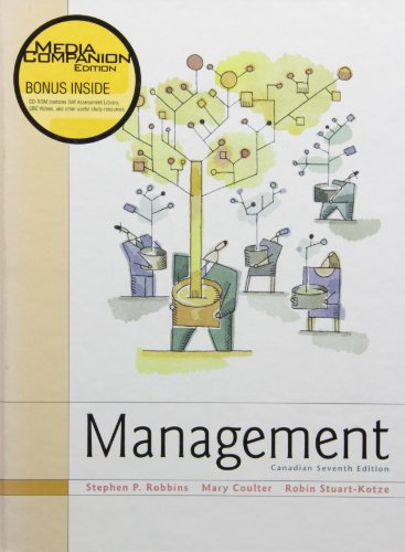 9780130430793: Management, Seventh Canadian Edition with CD-ROM