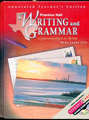 9780130433602: Communication in Action (Writing and Grammar, Ruby Level)