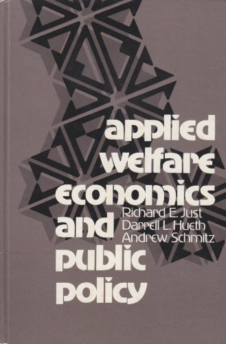 9780130433985: Applied Welfare Economics and Public Policy