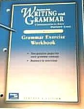 9780130434838: Grammar Exercise Workbook (Prentice Hall Writing and Grammar Communication in Action, Platinum Level Teaching Resources)
