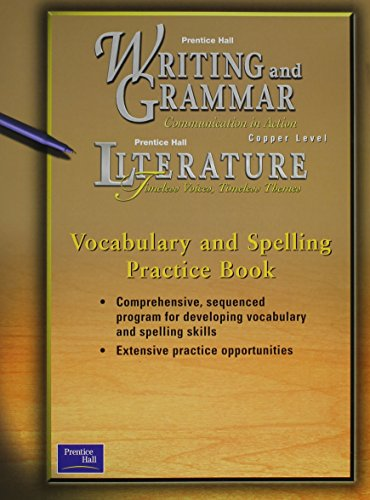 Prentice Hall Writing and Grammar/Prentice Hall Literature: Na