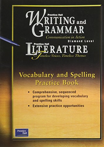 9780130434920: Prentice Hall Wag/Lit Vocabulary & Spelling Practice Book Grade 12 First Edition