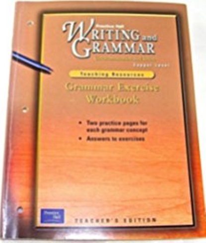 9780130434937: Vocabulary and Spelling Practice Book, Teacher's Edition, Copper Level (Prentice Hall Writing and Grammar)