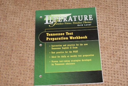 9780130435101: Tennessee Test Preparation Workbook (Prentice Hall Literature Timeless Voices, Timeless Themes Gold Level)